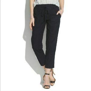 NWT Madewell Black Murray Trousers